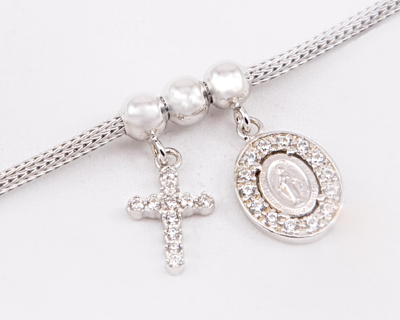 Miraculous Madonna & Cross Sterling Silver Bracelet. Tungsten Wedding Rings. Blue Earrings. Gold Leg Bracelet. Diamante Earrings. Red Diamond. Cluster Diamond. Baroque Pearl Stud Earrings. Pear Shaped Diamond Rings